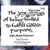 Joy Fulfilling G Ds Purpose 450